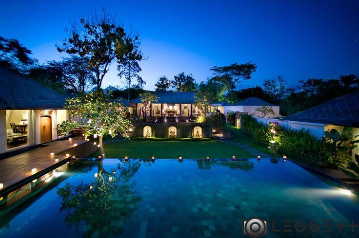 Night shot villa
