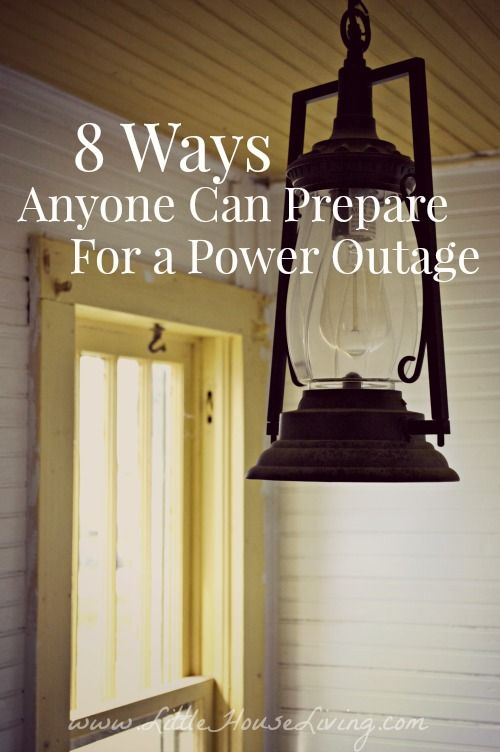 Are you ready for the next polar vortex? Here are 8 ways that anyone can be prepared for a power outage!