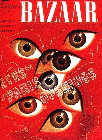 Digication e-Portfolio :: SPRG11CC201 - Beyer :: Figure- Alexey Brodovitch: Bazaars Eye, Alexey Brodovitch, Harpers Bazaars, Graphics Design, Bazaars Magazines, September 1939, Bazaars September, Bazaars Covers, Magazines Covers