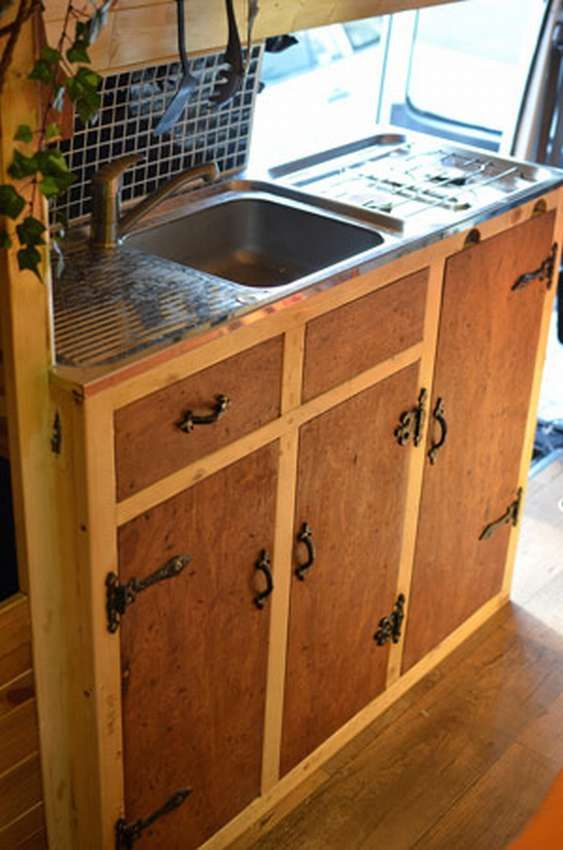 Шкафы на кухню своими руками 150 фото   Передвижные дома ...
