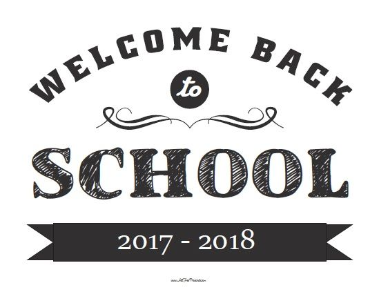 free printable welcome back sign free download best free printable