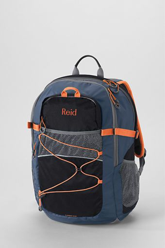 "School Uniform Solid FeatherLightâ""¢ Large Backpack from Lands' End"