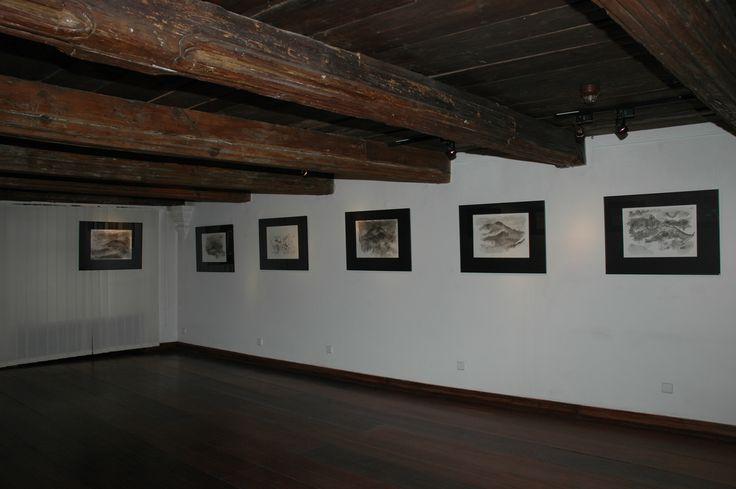 Mruczenie drewnianego lwa - wystawa Lecha Żurkowskiego