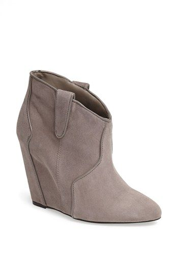 Steve Madden 'Sami' Wedge Bootie | Nordstrom: Hot Booty, Madden Sami, Booty Grey, Grey Suede, Nordstrom, Wedge Bootie, Sami Wedges, Wedges Booty, Suede Ankle Boots