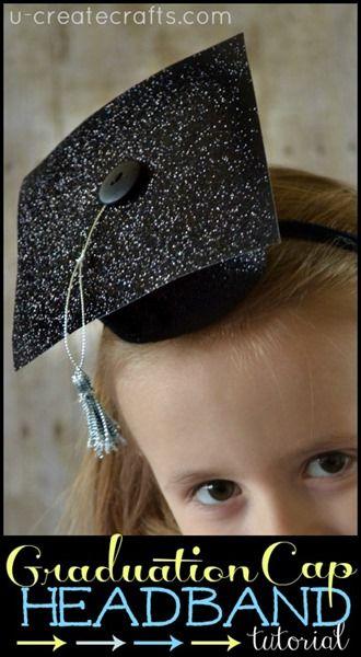 Graduation Cap Headband Tutorial