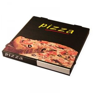 Boite Pizza - Black Box® - (colis x 100)