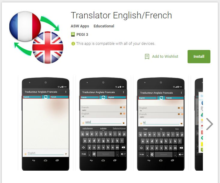 Translator English/French - Android Apps on Google Play