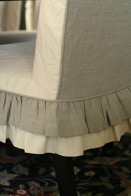 1000 Images About Slipcover Ideas On Pinterest Chair Slipcovers Ottoman Slipcover And Sink Skirt