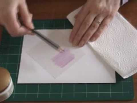 Kleur perkament met blendable Pencils - Gemini Ambachten - Online Lessen