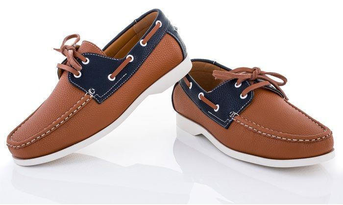 Franco Vanucci Men's Boat Shoes, $36.99