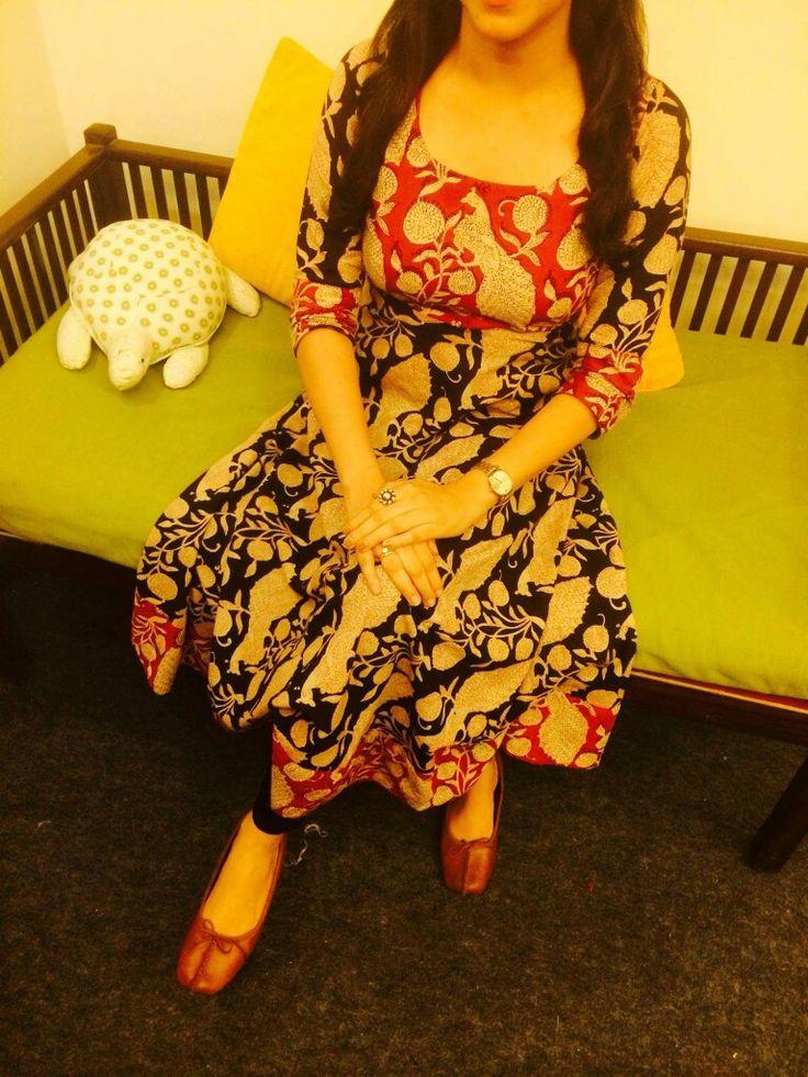 Kalamkari dress