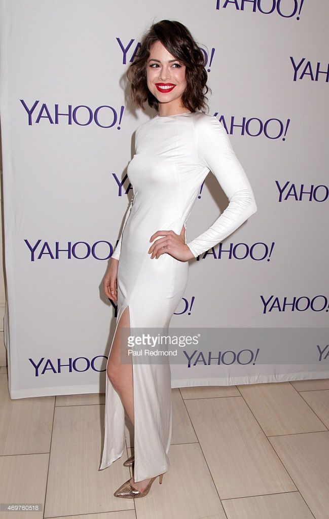 Actress Conor Leslie arriving at Paul Feig's new show launch party for 'Other Space' at The London on April 14, 2015 in West Hollywood, California.