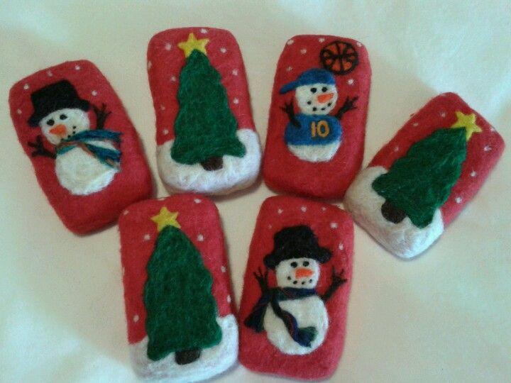 38 best WINTER/CHRISTMAS Needle Felting images on Pinterest ...