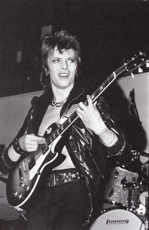 """Ziggy played guitar..."""