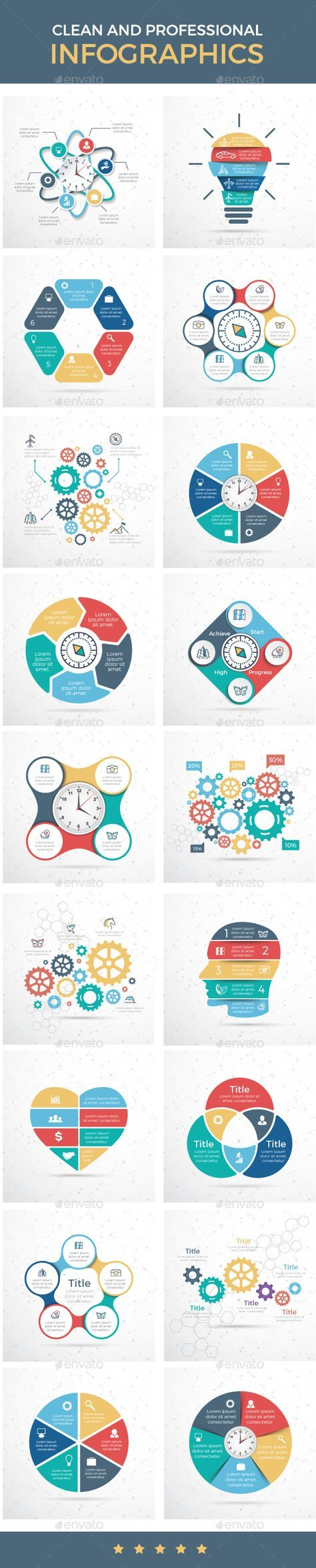 Infographic Design Templates Vector EPS, AI Illustrator