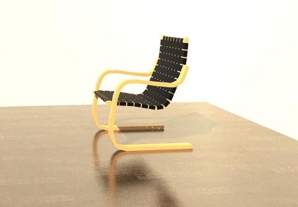 Revitcity Com Object Alvar Aalto Armchair In 2020 Armchair