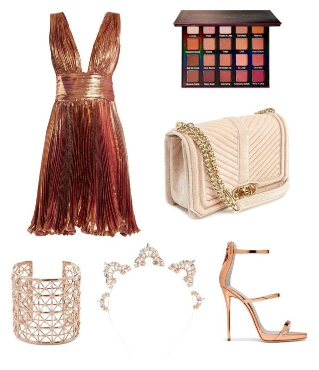 """""""Untitled #134"""" by dariatamasan on Polyvore featuring Maria Lucia Hohan, Giuseppe Zanotti, Violet Voss, Rebecca Minkoff, Co.Ro and Charlotte Russe"""