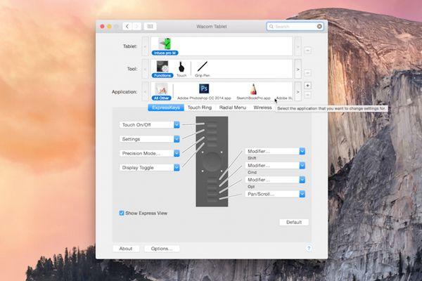 Using Wacom Drivers with Mac OS X Yosemite
