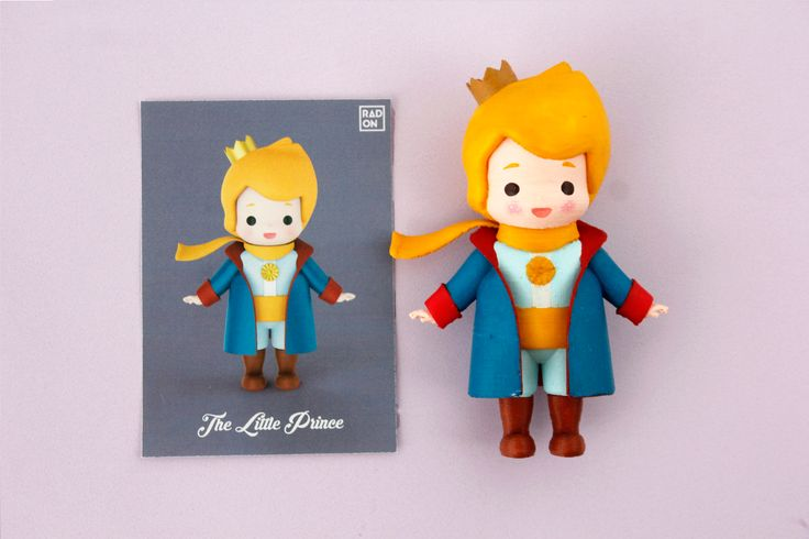 3D printed art toy!! The Little Prince! You can color it yourself and relieve stress from your daily life :D  #Arttoy #3Dprinting #DIY #Coloring #littleprince