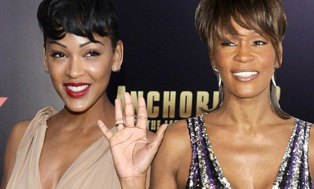 Actress Meagan Good has revealed that she would like to play Whitney Houston in an upcoming biopic. The 32-year-old actress who plays Linda Jackson in Anchorman 2, has claimed the role would be a 'blessing'.
