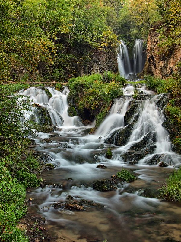 Roughlock Falls State Park, Spearfish Canyon, Black Hills, South Dakota
