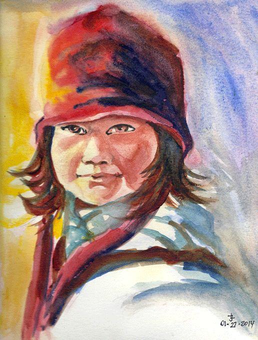 watercolor by Joanna Lazuchiewicz 2014 (KH)
