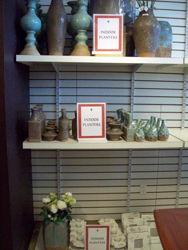 Our new pottery collections are arriving in stores! Both indoor and outdoor pieces.