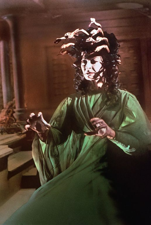 The Gorgon is a 1964 British horror film directed by Terence Fisher for Hammer Films. Barbara Shelley as Carla Hoffman