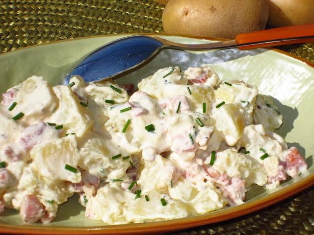 insalataMente: Insalata di patate e pancetta affumicata
