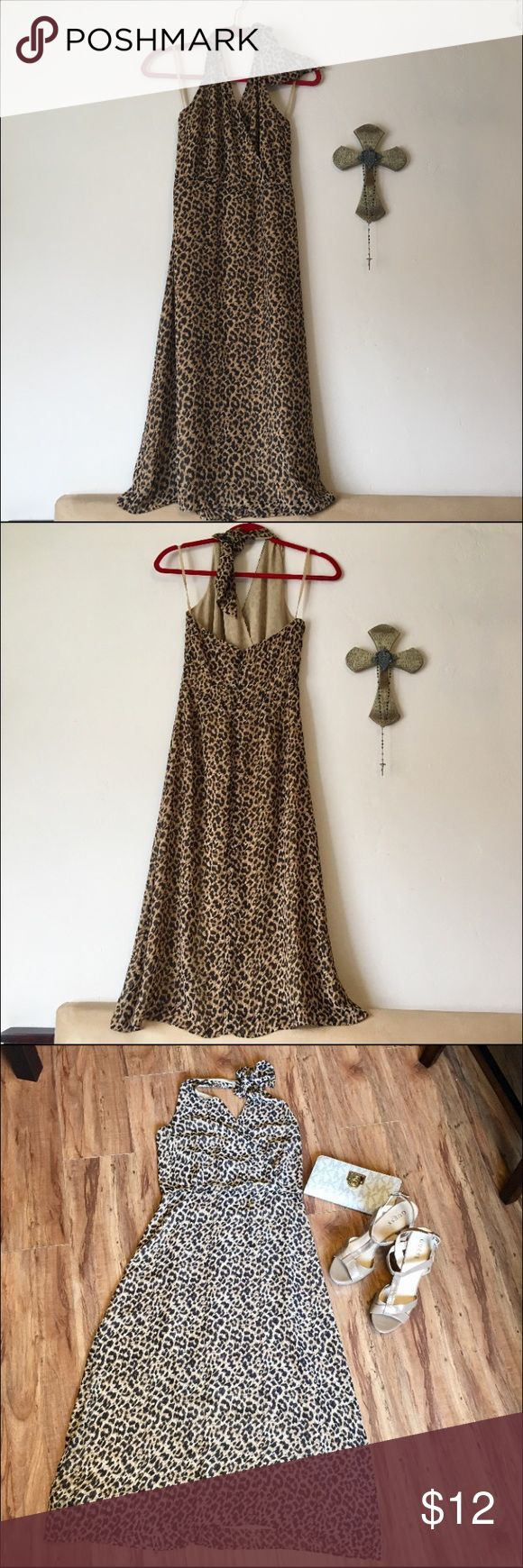 Mercer & Madison Dress Mercer & Madison Cheetah Print Dress. Size: 4  Gorgeous flow to this dress. Just doesn't fit. My aunt bless her heart thought I was a size 4. Mercer & Madison Dresses Midi