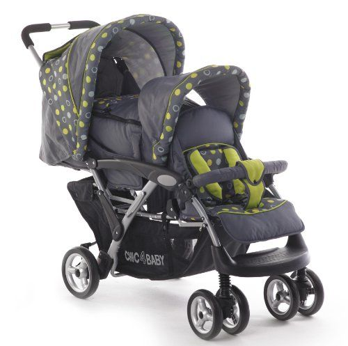 CHIC 4 BABY Geschwisterwagen DUO 274 42 - Carrito  #maternidad http://carritosbebe.org/producto/chic-4-baby-geschwisterwagen-duo-274-42-carrito/