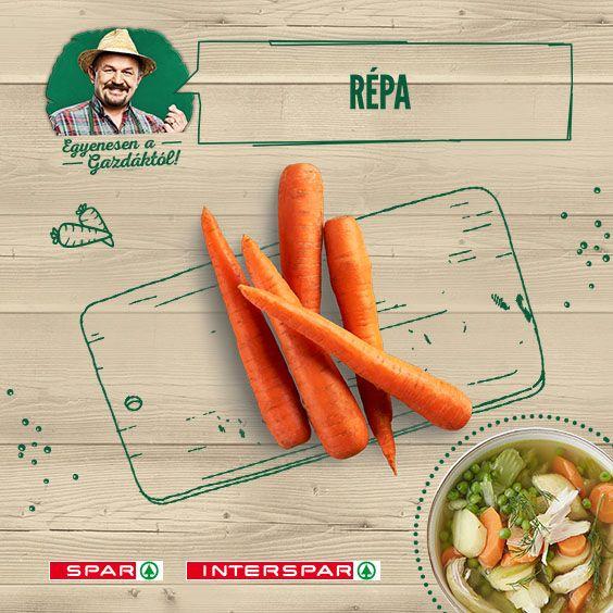 Ismeritek a gyöngyöző húsleves kicsit édeskés ízét? Na, az a sárgarépának köszönhető. Ha kellene egy recept, itt találod: http://www.spar.hu/hu_HU/spar_chef/receptek/leves/zoldseges_husleves.html