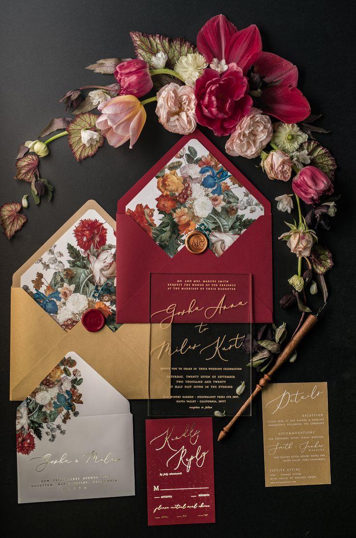 127 best wedding invitation images on Pinterest | Occult art ...