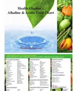 List of alkaline foods and a list of acidic foods - Acid Alkaline Foods Chart #vegan #vegetarian #food