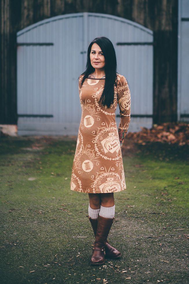 Hannapurzel: RUMS / I Love To Sew - LillestoffWerbung