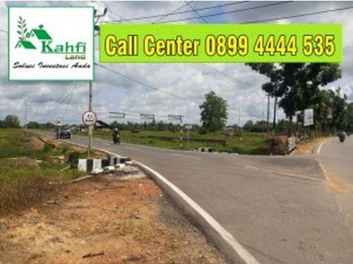 Jalan Tembusan Dari Depan Kantor Bupati Kubu Raya. Sudah Tembus di Sekunder C Rasau Jaya