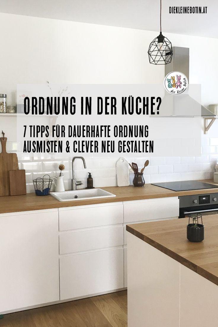 Küche ausmisten in 2019 | Küche neu gestalten, Küche planen ...
