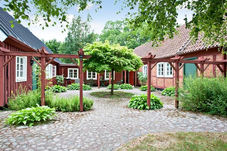 Courtyard, Örkelljunga, Sweden