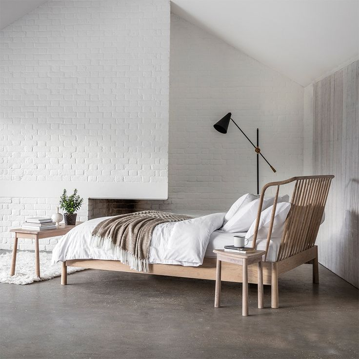 best 25+ oak bed frame ideas on pinterest | king beds, grey