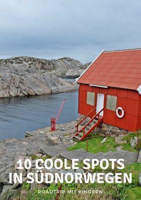 Autoreise durch Südnorwegen mit Kindern – 10 coole Orte, die Sie gesehen haben