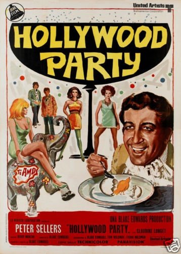 The Party Peter Sellers Vintage Movie Poster