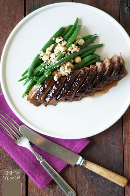 Honey Soy Glazed Duck Breast Recipe | Chew Town Food Blog