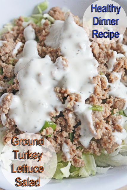 Healthy Dinner Recipe: Ground Turkey Stir Fry Lettuce Salad | Clean Eating Meal Plan | Easy and Cheap Healthy Meals | Weight Loss Meal Plan