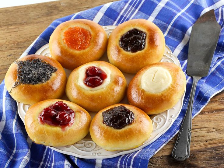 American Cakes: Kolache - Learn the history of Czech kolaches, then try a traditional recipe with fillings and posipka from food historian Gil Marks  via @toriavey
