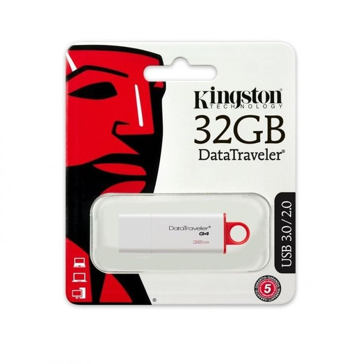 PEN DRIVE KINGSTON 32GB DTIG4 3.0/2 .0  #informatica #usb #mazzarella