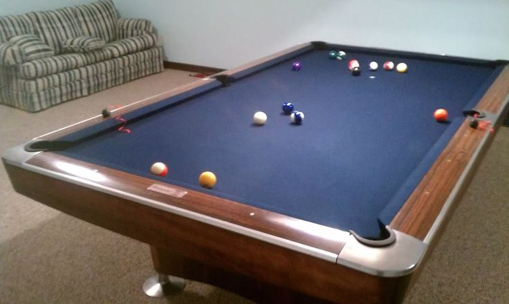 how to get rid of pool table stains