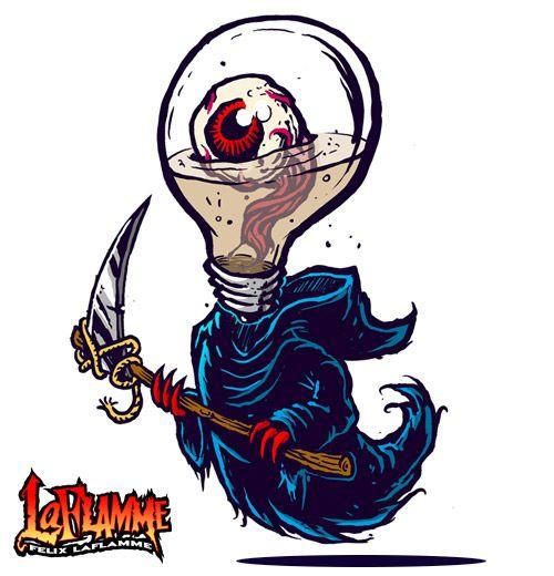 Death got an eye on you!