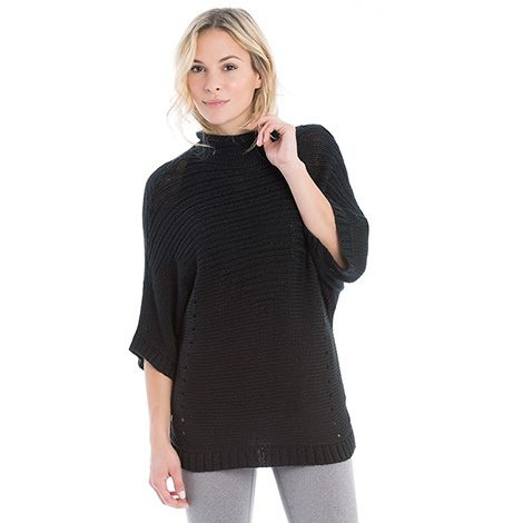 The NEW Joan Sweater :the high collar adds style and comfort you'll want to wear it all the time! / Découvrez le NOUVEAU chandail Joan