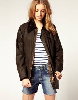 Barbour Bedale Bleu