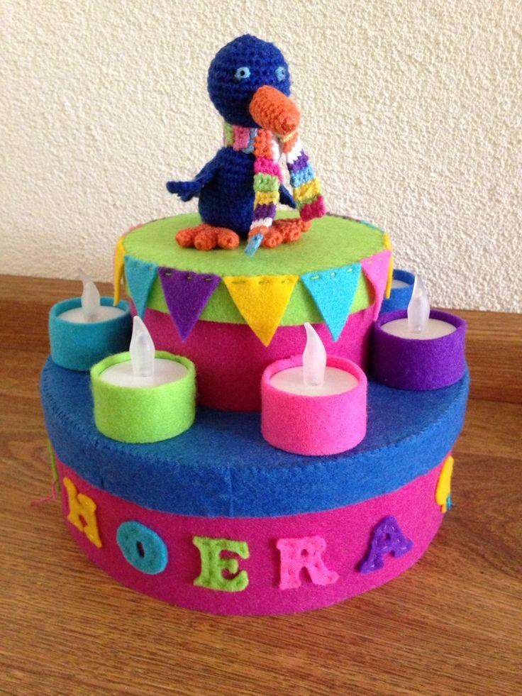 Raai de kraai verjaardagstaart